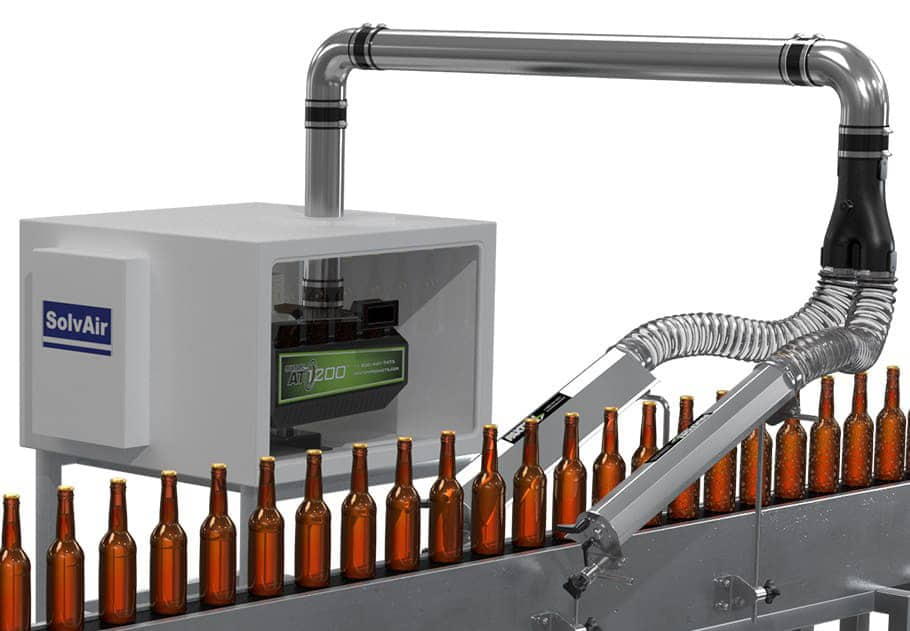 Typical Air Knife System