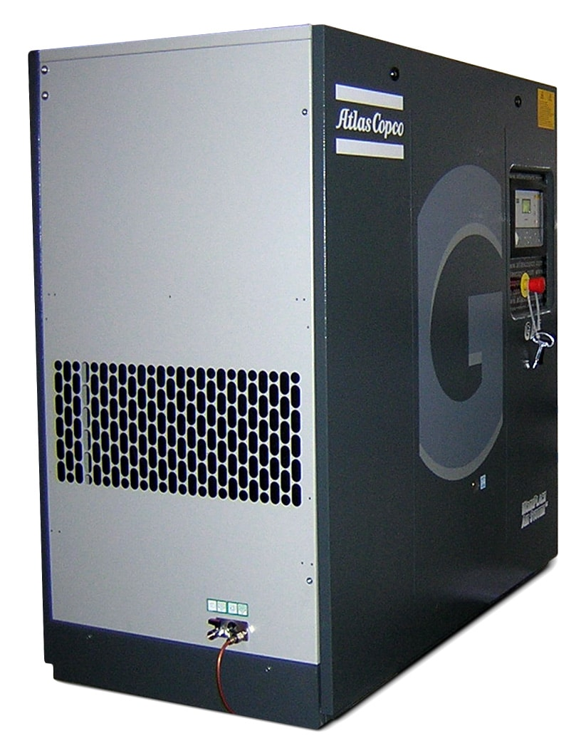 A modern industrial air compressor